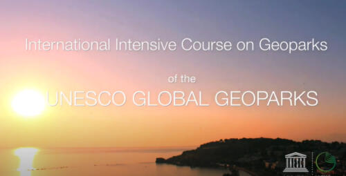 International Intensive Course on UNESCO Global Geoparks 2018
